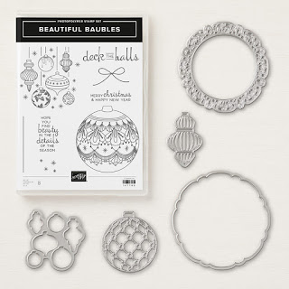 Beautiful Baubles bundle Stampin' Up!