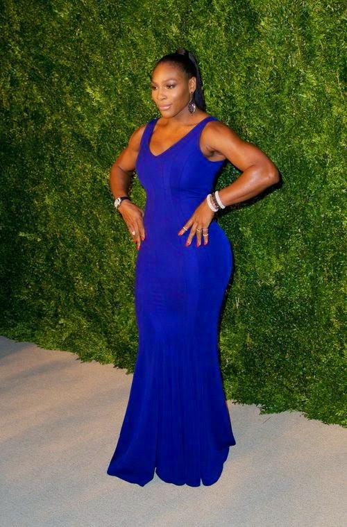 Involuntarily Serena Williams is single again