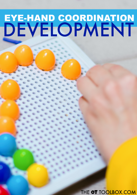 Development of Eye-Hand Coordination