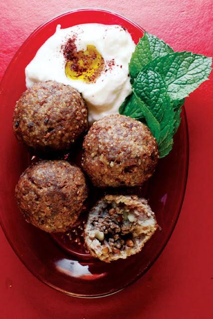 Kibbeh (Beef And Bulgur Wheat Meatballs) Recipe