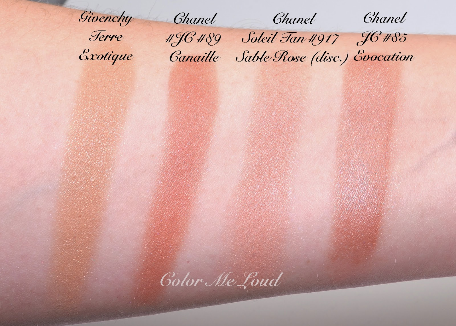 Chanel Joues Contraste #88 Vivacite, #89 Canaille, Review, Swatch ...