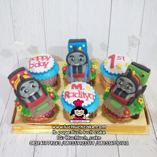 Cupcake Kerata Thomas and Friends