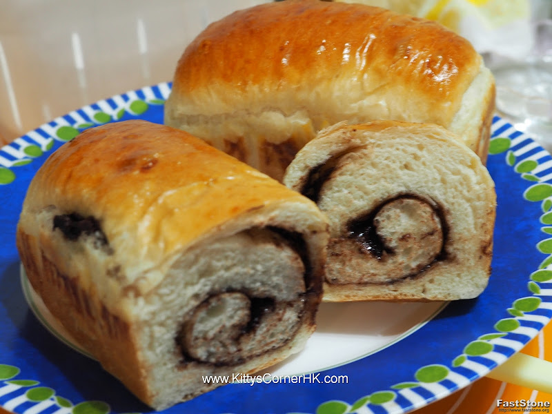 Nutella Bread Roll 朱古力麵包卷 自家烘焙 食譜 home baking recipes