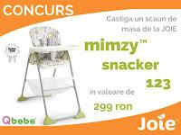 Castiga un scaun de masa Joie Mimzy Snacker 123