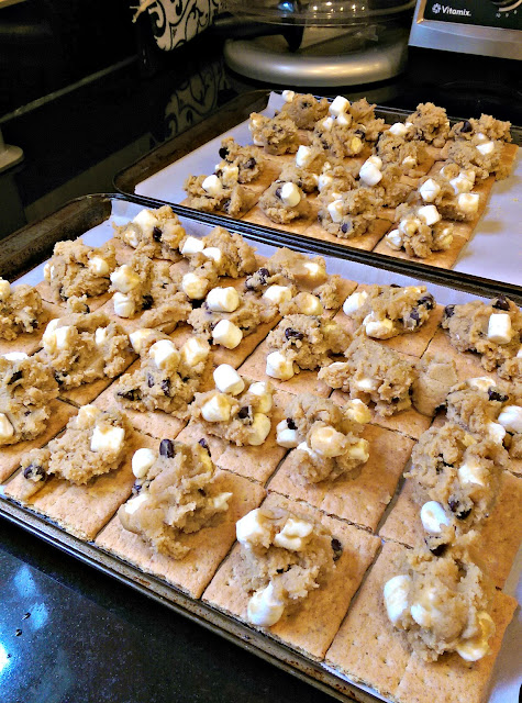 S'mores Cookies! Easy, but mostly DELICIOUS!
