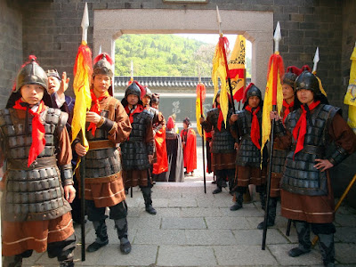 Chinese Warrior Tourist Attraction