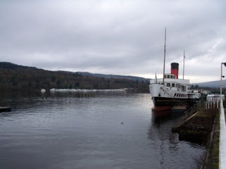 'Maid of the Loch' at Loch Lomond