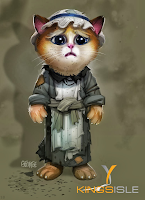 Pirate101 Marleybone Concept Art Orphan Kitten