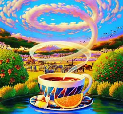Ceai cu portocale Simina Ionescu