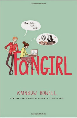 Fangirl by Rainbow Rowell – book cover