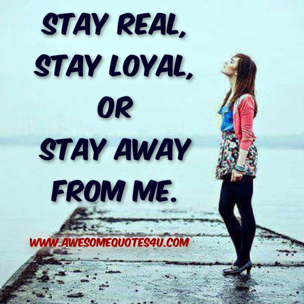 Awesome Quotes Stay Away From Me