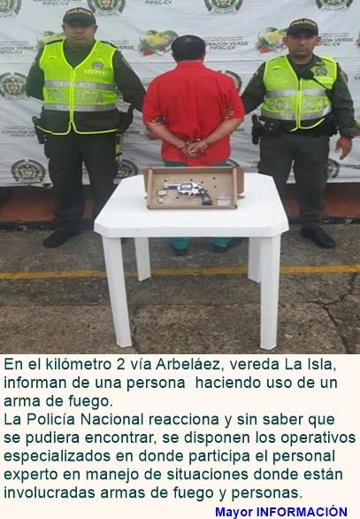 CASI NADA: PORTE ILEGAL DE ARMAS, VIOLENCIA INTRAFAMILIAR Y TENTATIVA DE HOMICIDIO
