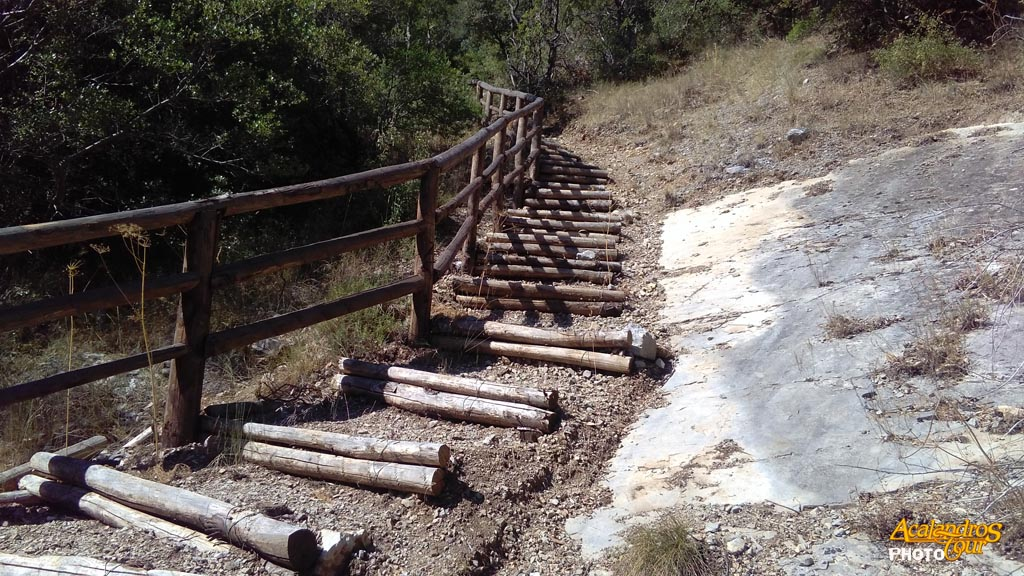 Parola di acalandros il sentiero del ponte d 39 ilice for Gradini del ponte curvi