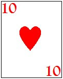 ten of hearts