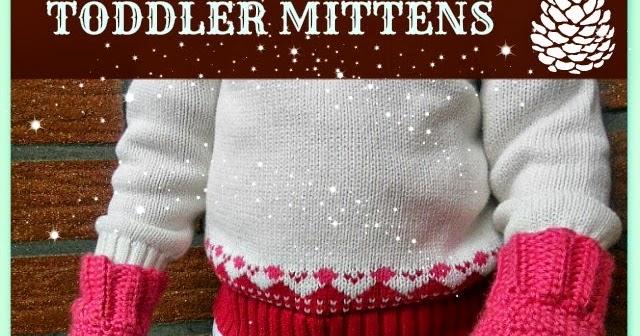 My Hobby Is Crochet: Crochet Toddler Mittens Ceyla - Free Pattern ...