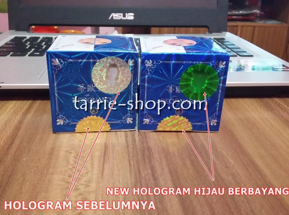 Hologram Original Silver Holo HIJAU Deoonard 7 Days