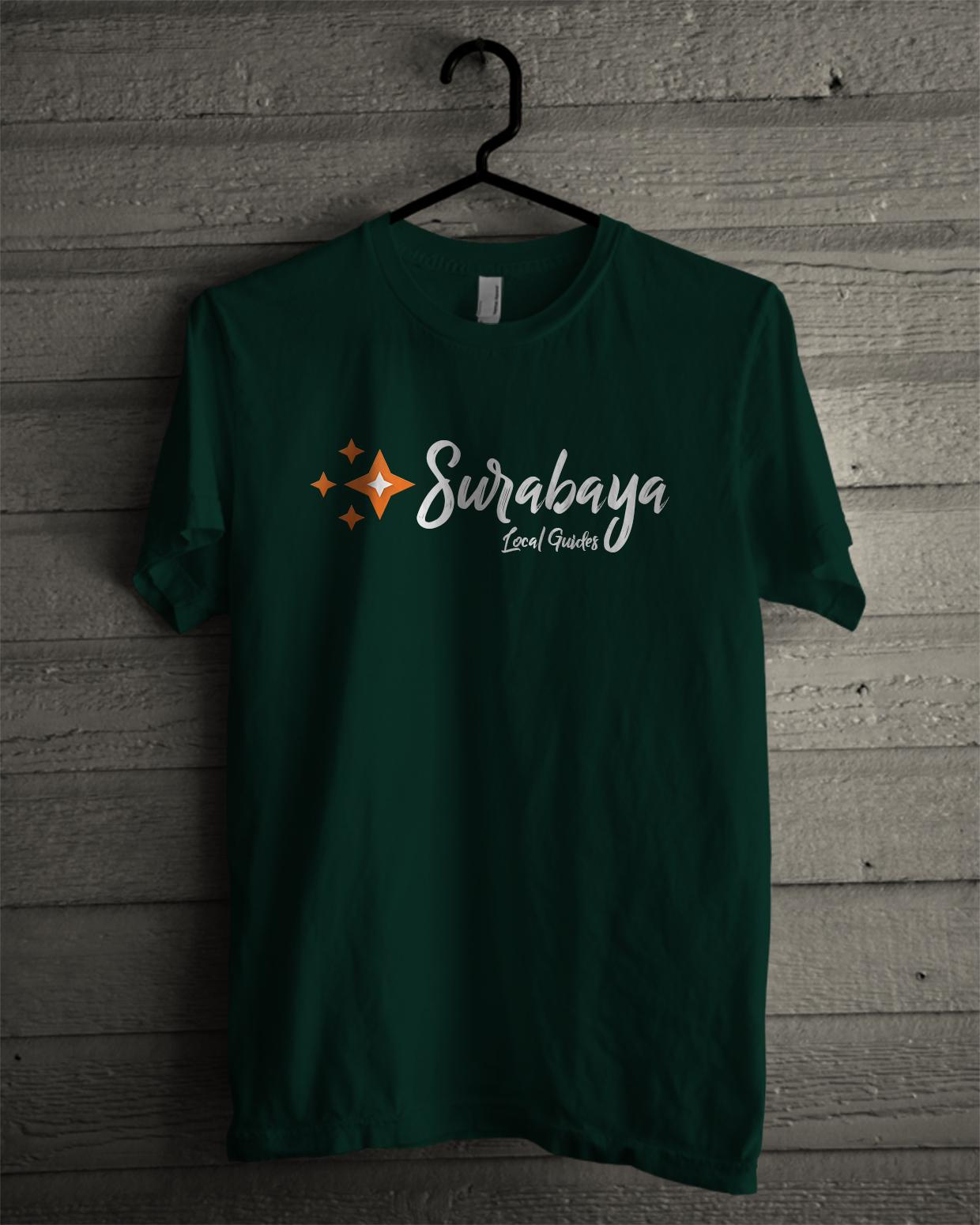 Black t shirt tambah lagi - Setelah Memproduksi Official Tshirt Local Guides Indonesia Beberapa Bulan Yang Lalu Kali Ini Komunitas Local Guides Surabaya Akan Memproduksi Lagi Kaos