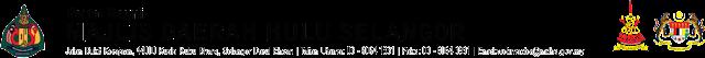 Portal rasmi Majlis Daerah hulu Selangor
