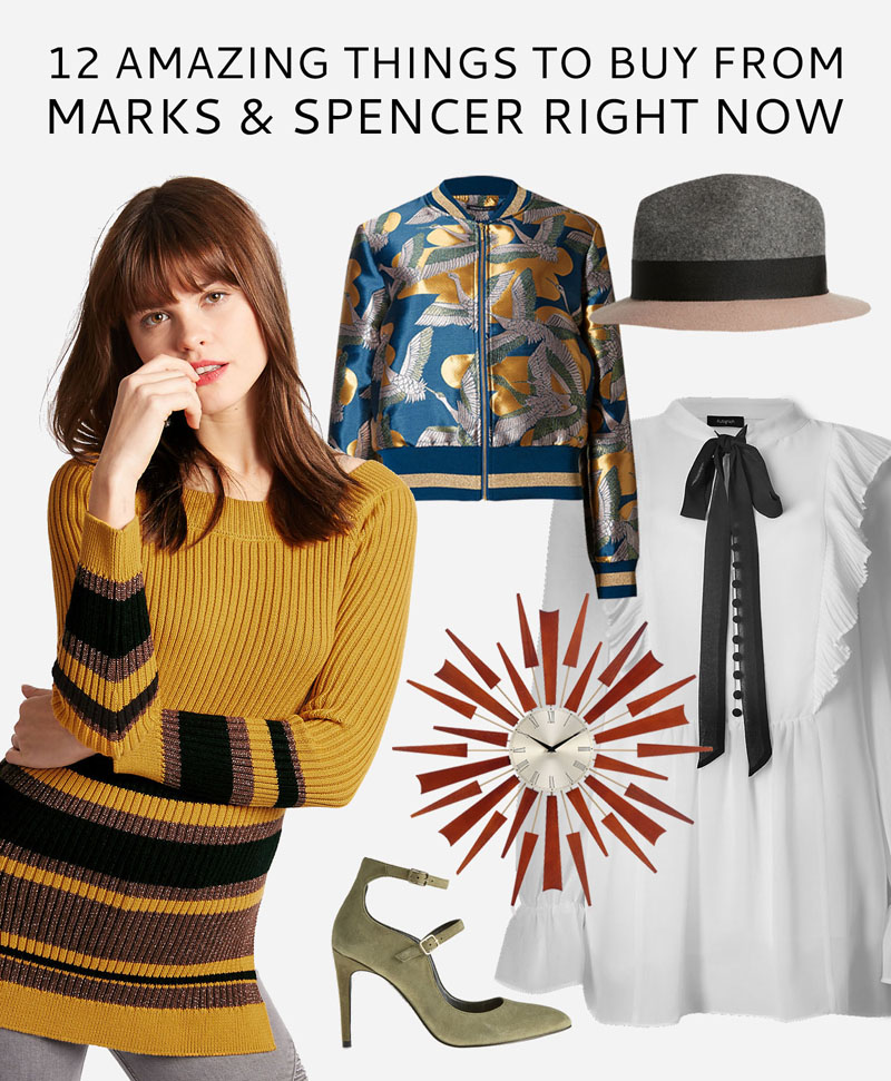 12 Amazing Things to Buy From Marks & Spencer Right Now (Plus 20% Off Code)