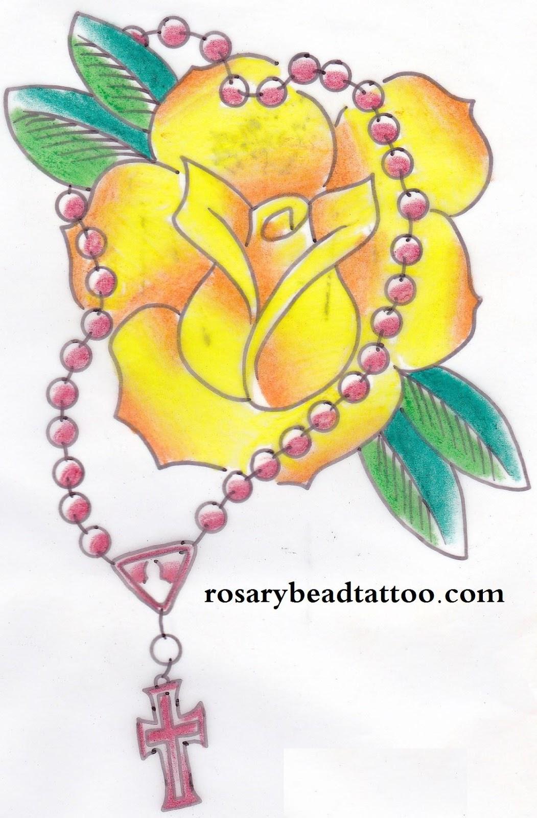 1887Tattoos: Yellow Rose Tattoos