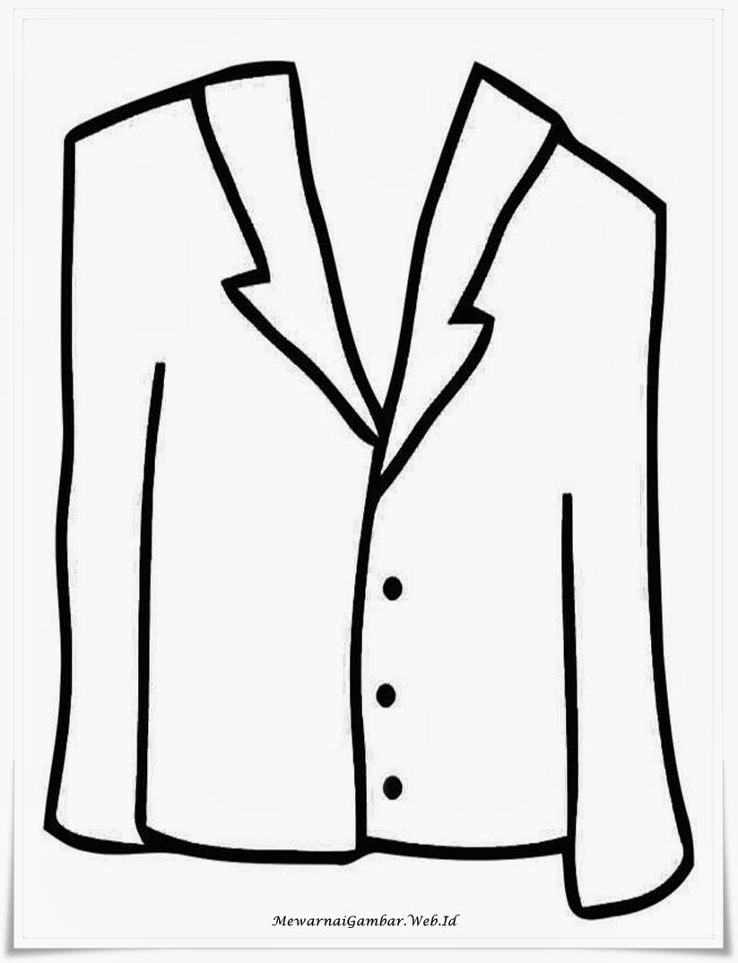 Gambar List Mewarnai Gambar Baju Celana Pict Pictures Lebaran