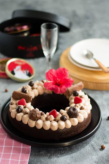 Gâteau au chocolat moelleux et ganache montée