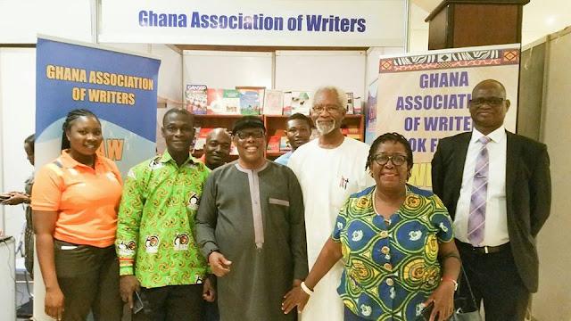 Prof Atukwei Okai, Kwasi Gyan-Apenteng, Ebo Donkoh, Ohui Allotey Agbenyega