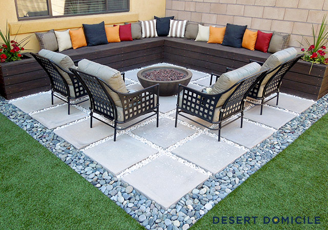 Desert Domicile  Home Depot Patio