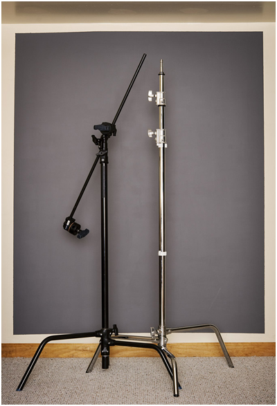 Pictured Above Are Two C Stands A Black Avenger With 40 Extension Arm Attached And Chrome Lumopro Without An Click The Pic For 1000 Pixel