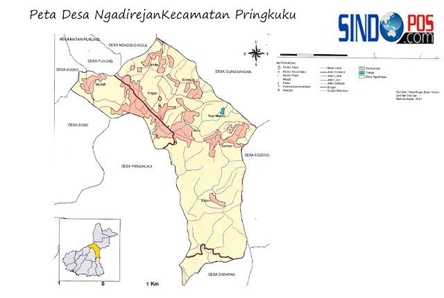 Profil Desa & Kelurahan, Desa Ngadirejan Kecamatan Pringkuku Kabupaten Pacitan