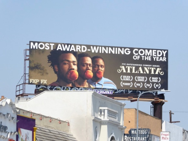 Atlanta award-winning comedy billboard