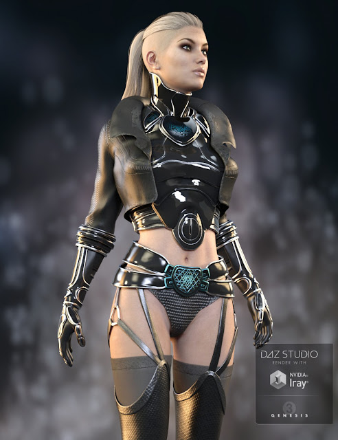 Emeka Outfit for Genesis 3 Female
