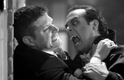 Dean Winchester et Dracula Supernatural