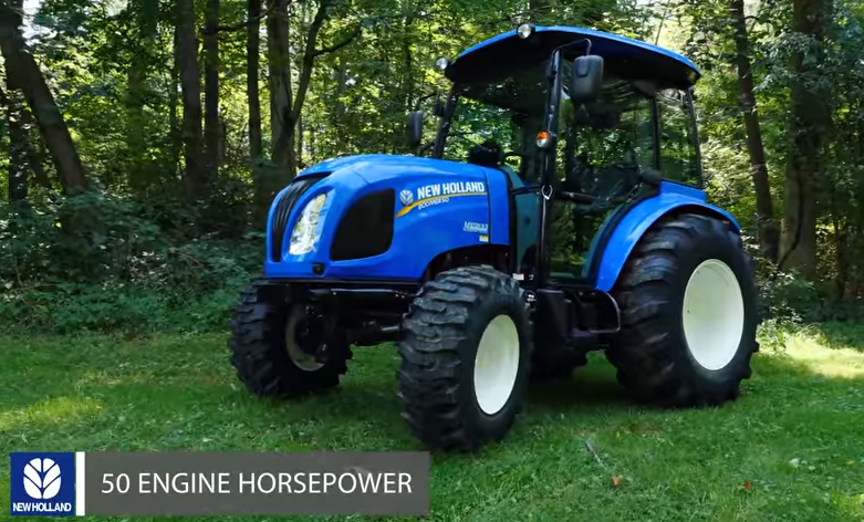 50 Hp Tractor With Loader For Sale | Used Tractor For Sale In