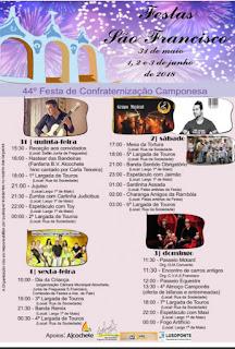 Programa Festas de São Francisco 2018 em Alcochete