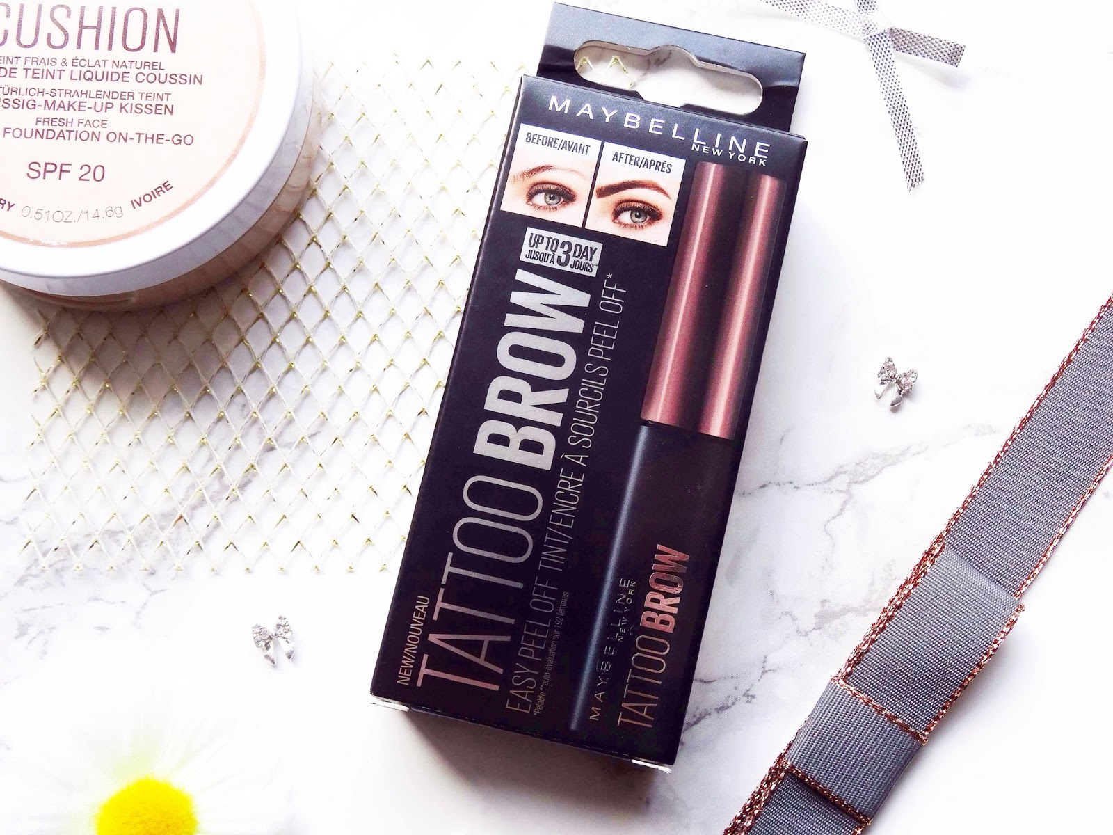 Maybelline Tattoo Eyebrow Easy Peel Off Tint Review