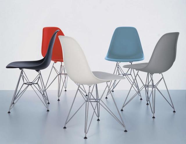 Amedeo liberatoscioli la classifica delle 10 sedie pi for Sedie design eames