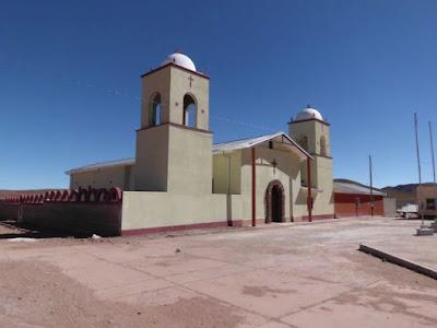 Renovierte Kirche in San Pablo de Lipez