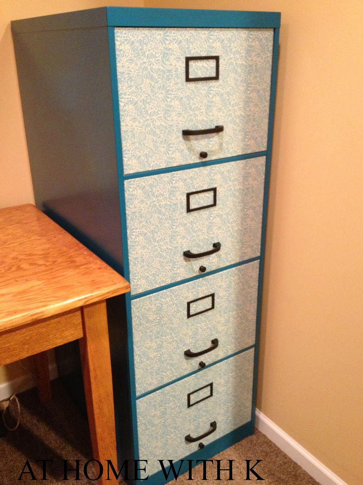 Ideal At Home With K: DIY File Cabinet EH83