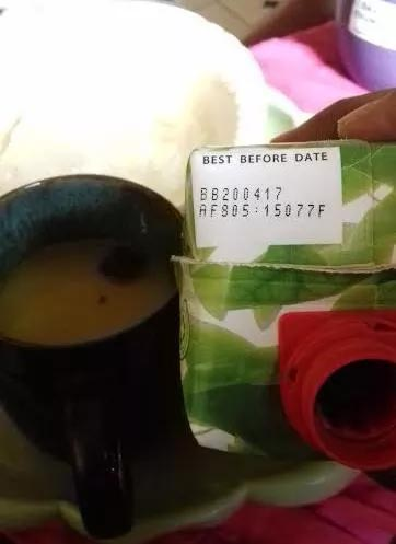 See what a lady discovered inside her 5alive juice