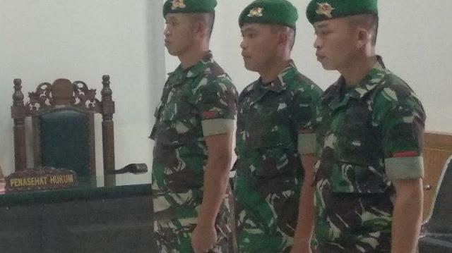 Aniaya Wartawan MetroTV dan Anggota IPK, Tiga Prajurit TNI Diadili
