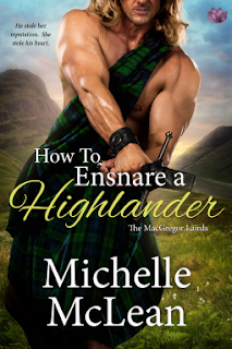Celtic barbs tartan book review blog march 2018 how to ensnare a highlander by michelle mclean the macgregor lairds book 2 five kilts celtic barb loved this heartwarming book fandeluxe Images
