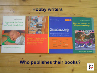 Who publishes books from hobby writers?