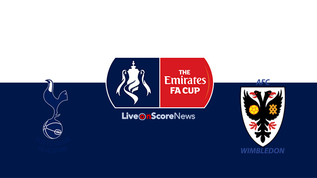 Tottenham vs AFC Wimbledon: FA Cup TV, live streaming