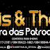 """Thais & Thalia fizeram a festa no programa """"Domingão da 104"""" com a """"Farra das patroas"""""""