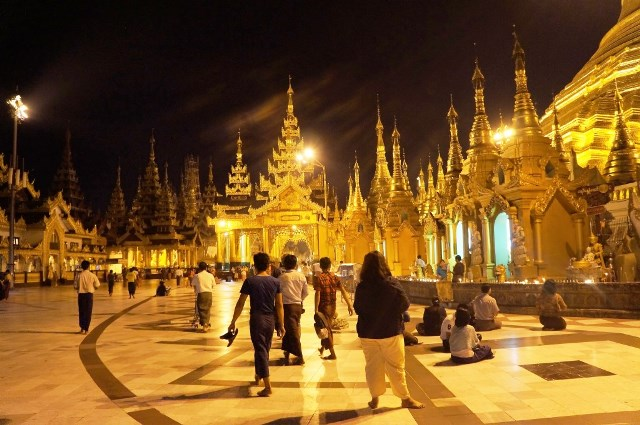 pagoda Yangon Myanmar