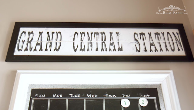 Grand Central Station Sign, Bliss-Ranch.com