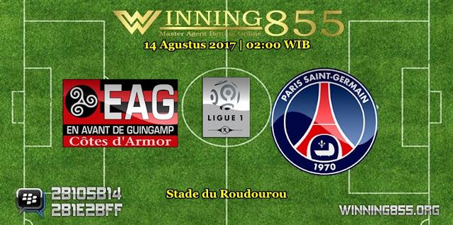 Prediksi Skor Guingamp vs PSG