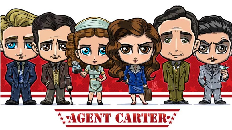Agent Carter Toys : Fan stuff sunday dc and marvel combo with an awesome