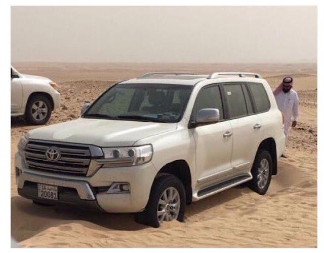 وفاة سعودي وابنه في صحراء حفر الباطن بالسعودية بسبب العطش